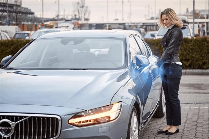 Volvo Smartphone Unlock