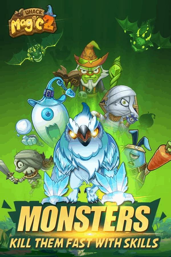 Whack Magic 2 monsters