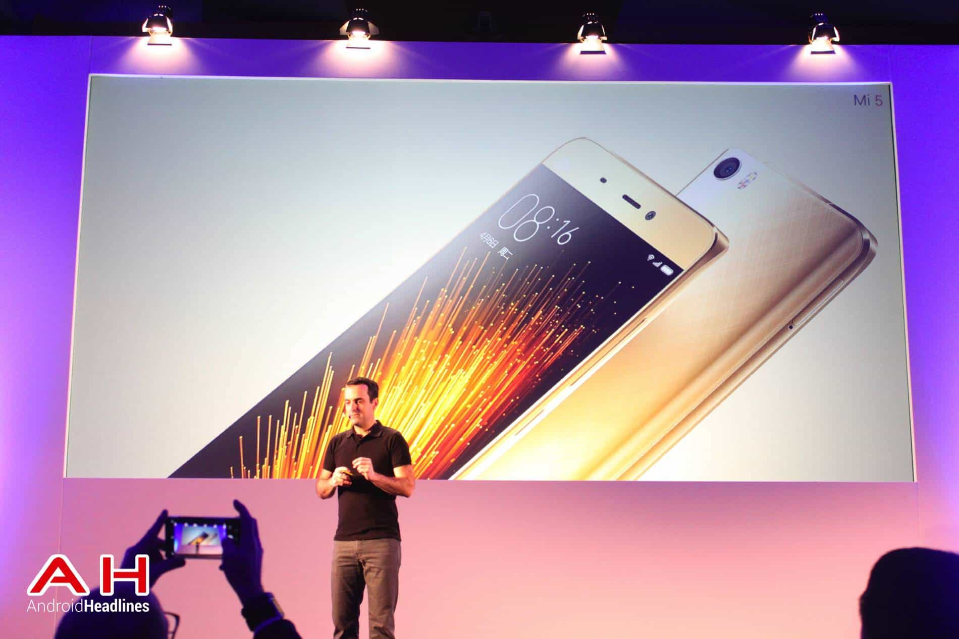 Xiaomi Mi 5 MWC AH 08