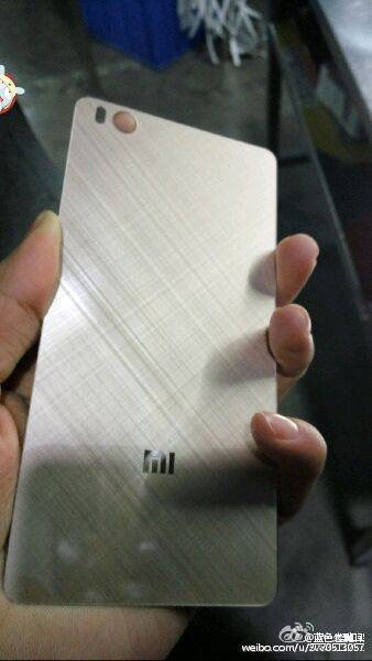 Xiaomi Mi 5 back cover leak 1