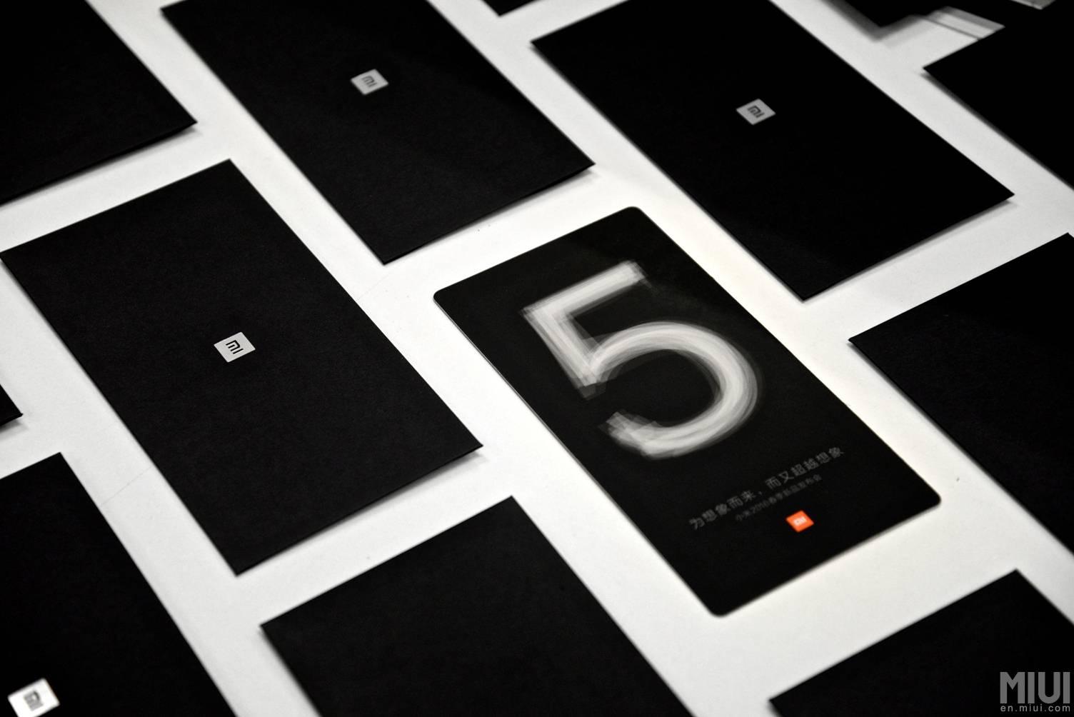Xiaomi Mi 5 invitation 3