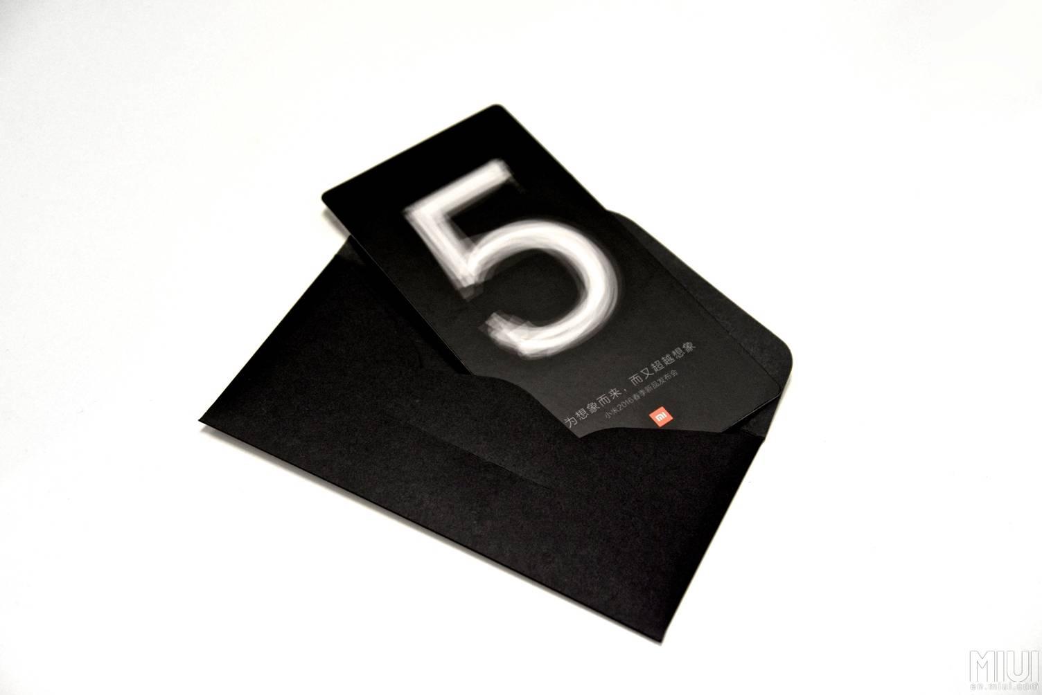 Xiaomi Mi 5 invitation 4