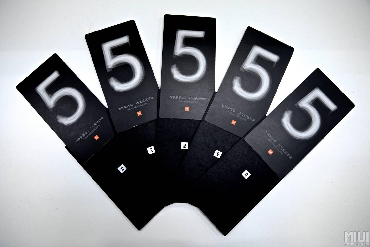 Xiaomi Mi 5 invitation 7