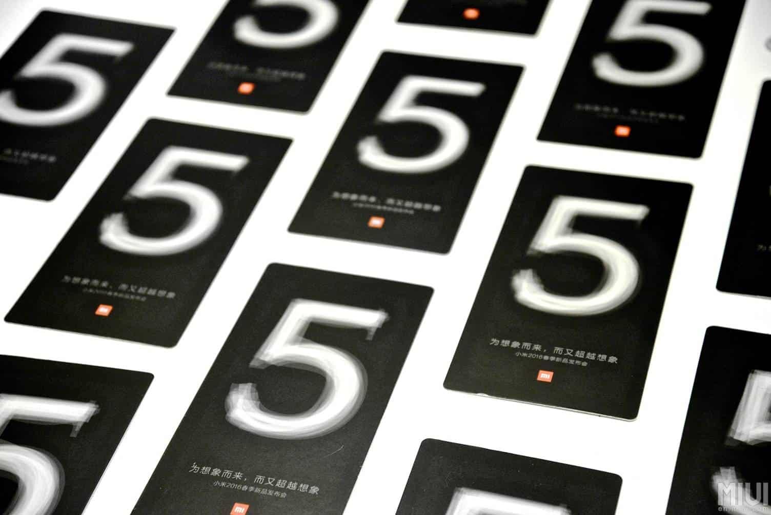 Xiaomi Mi 5 invitation 8