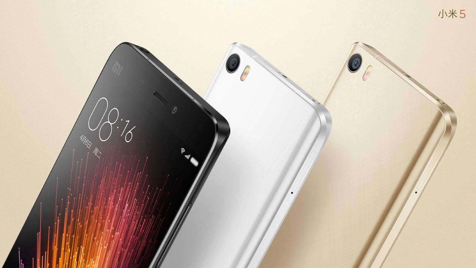Xiaomi Mi 5 official image_1