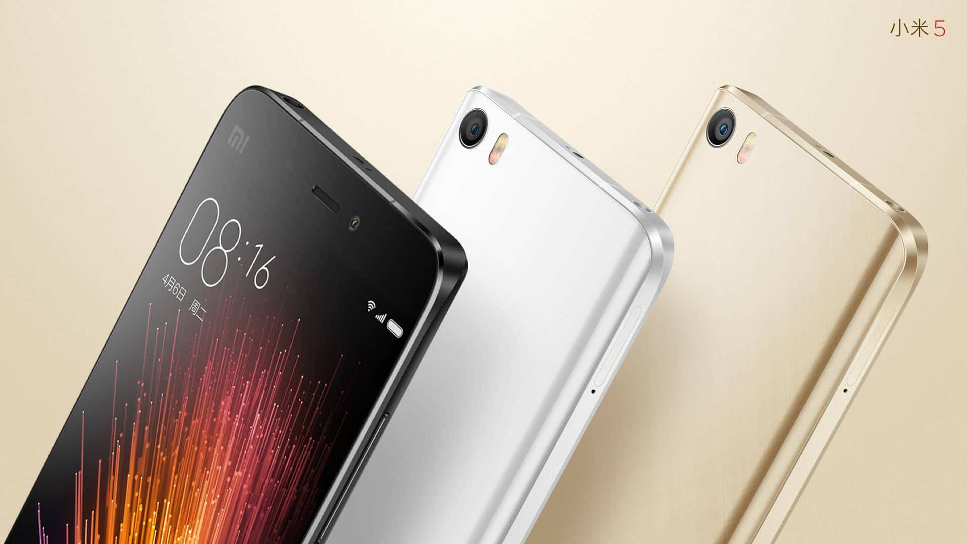 Xiaomi Mi 5 official image 1
