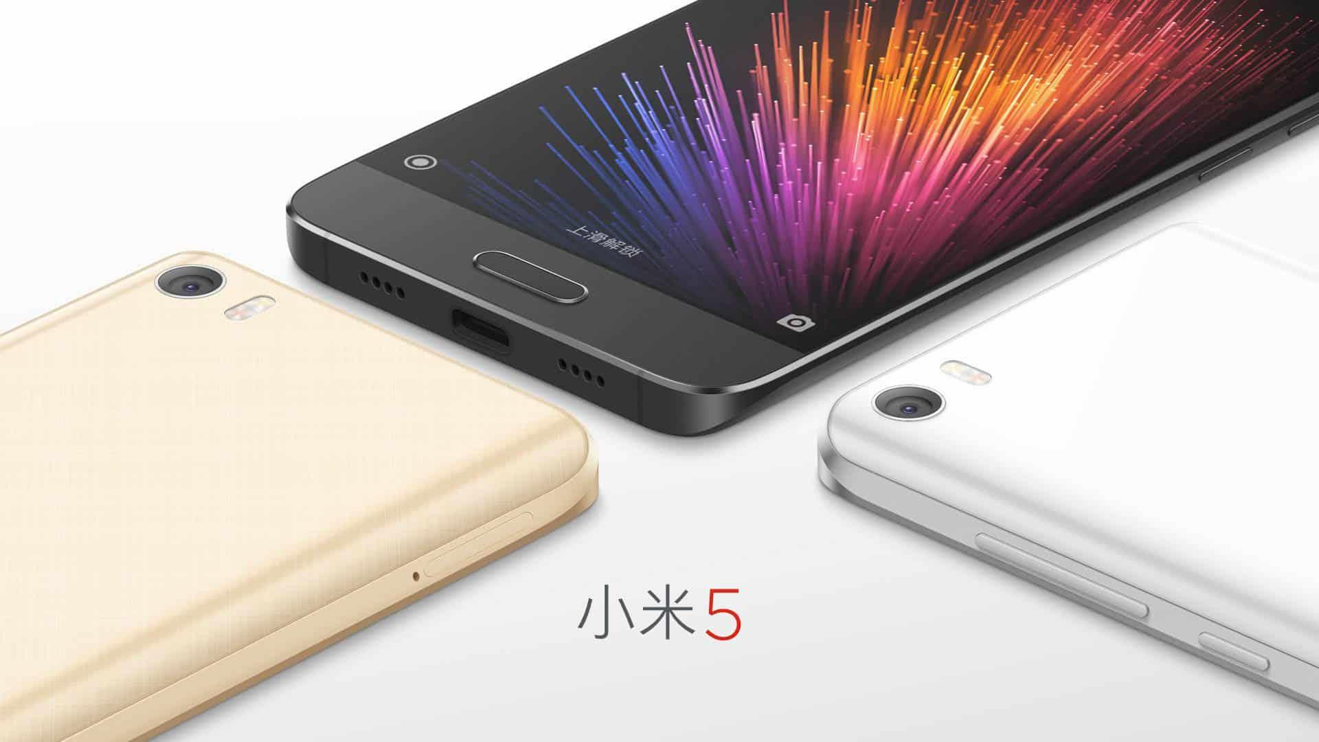 Xiaomi Mi 5 official image 3