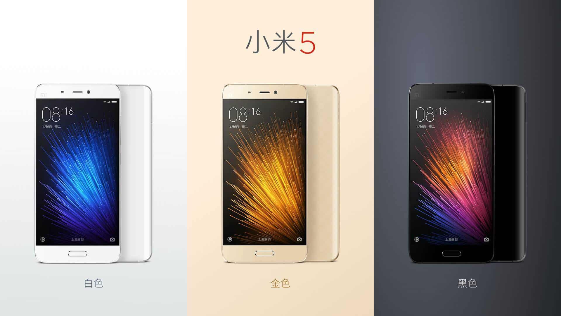 Xiaomi Mi 5 official image_4