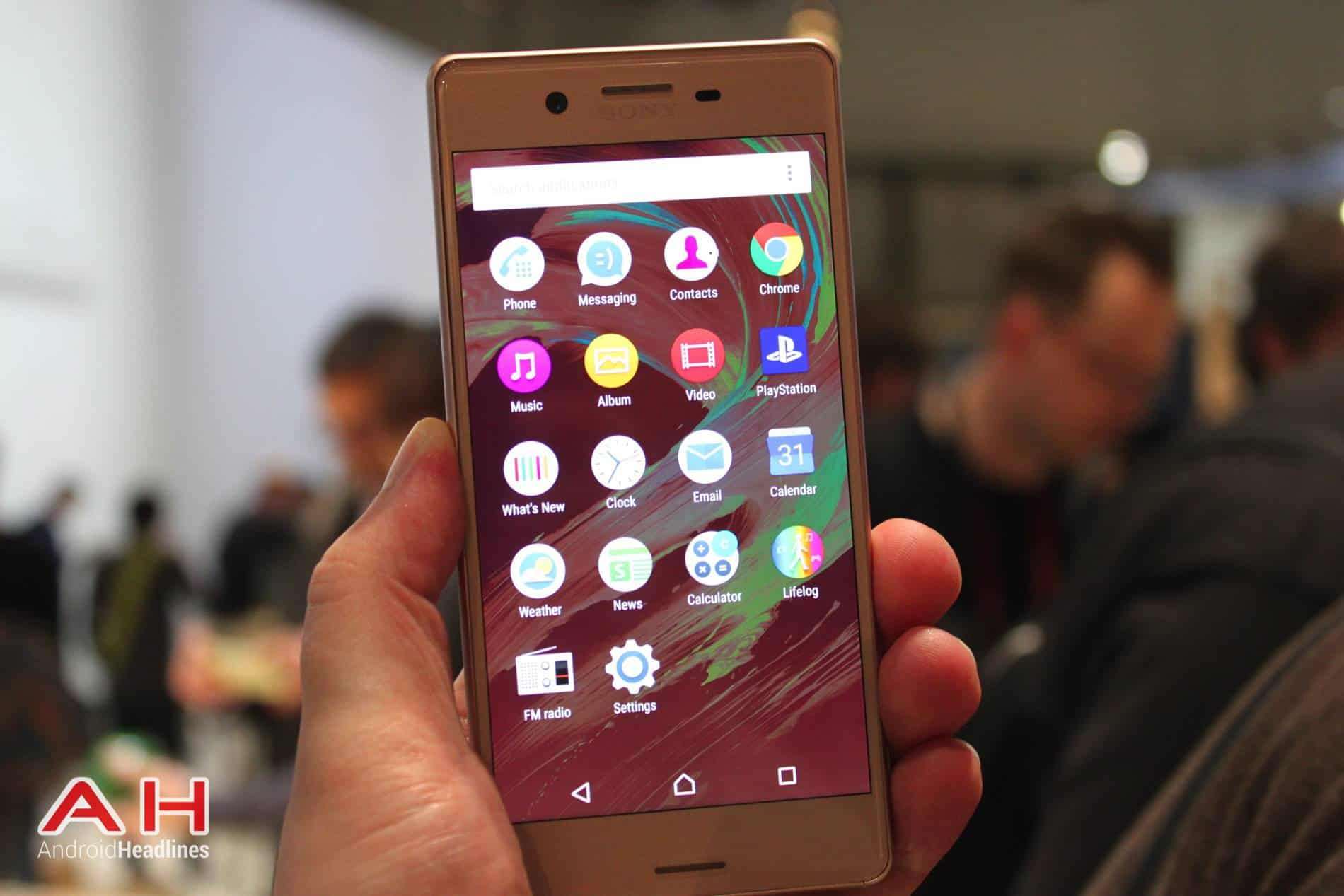 Xperia X Hands On MWC AH 24