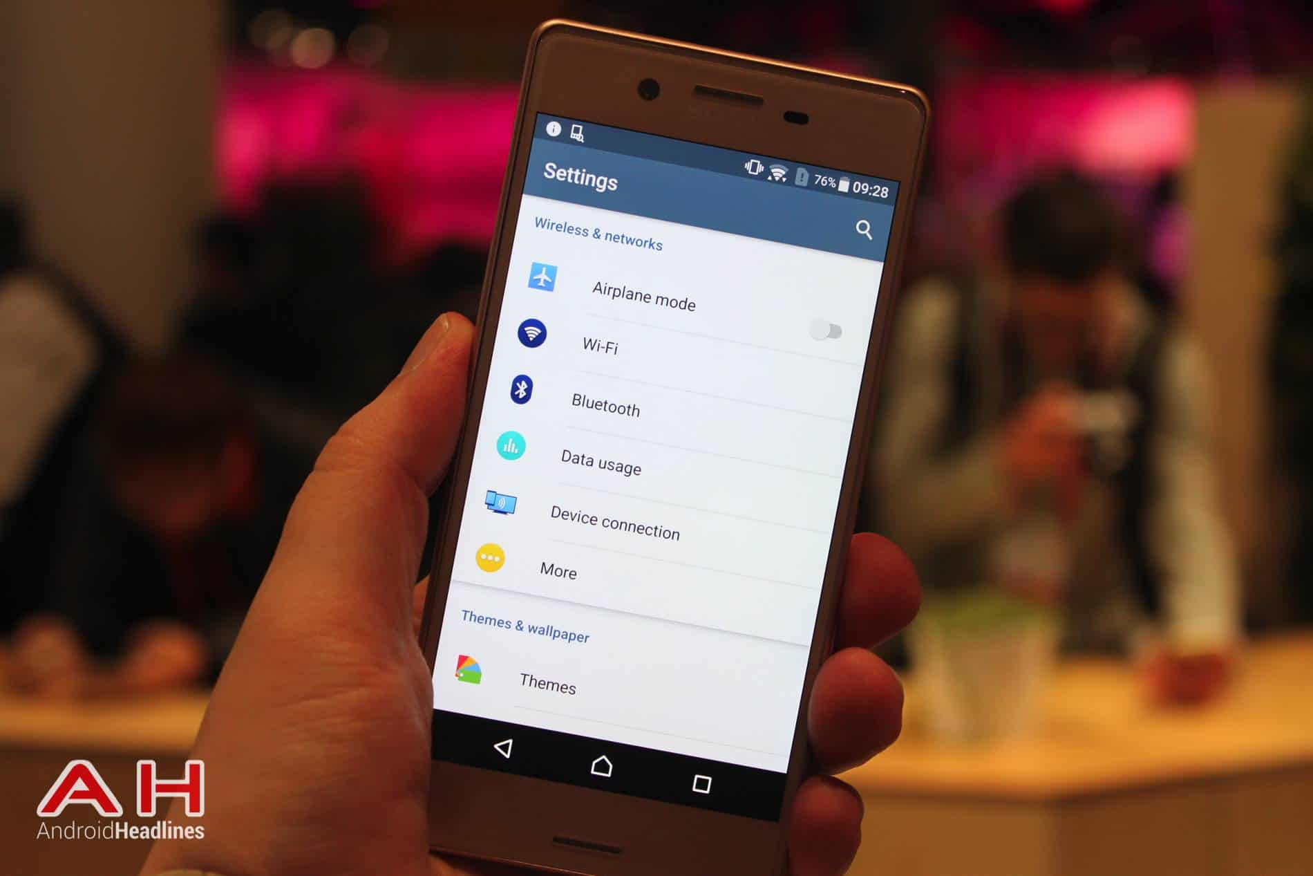 Xperia X Hands On MWC AH 25