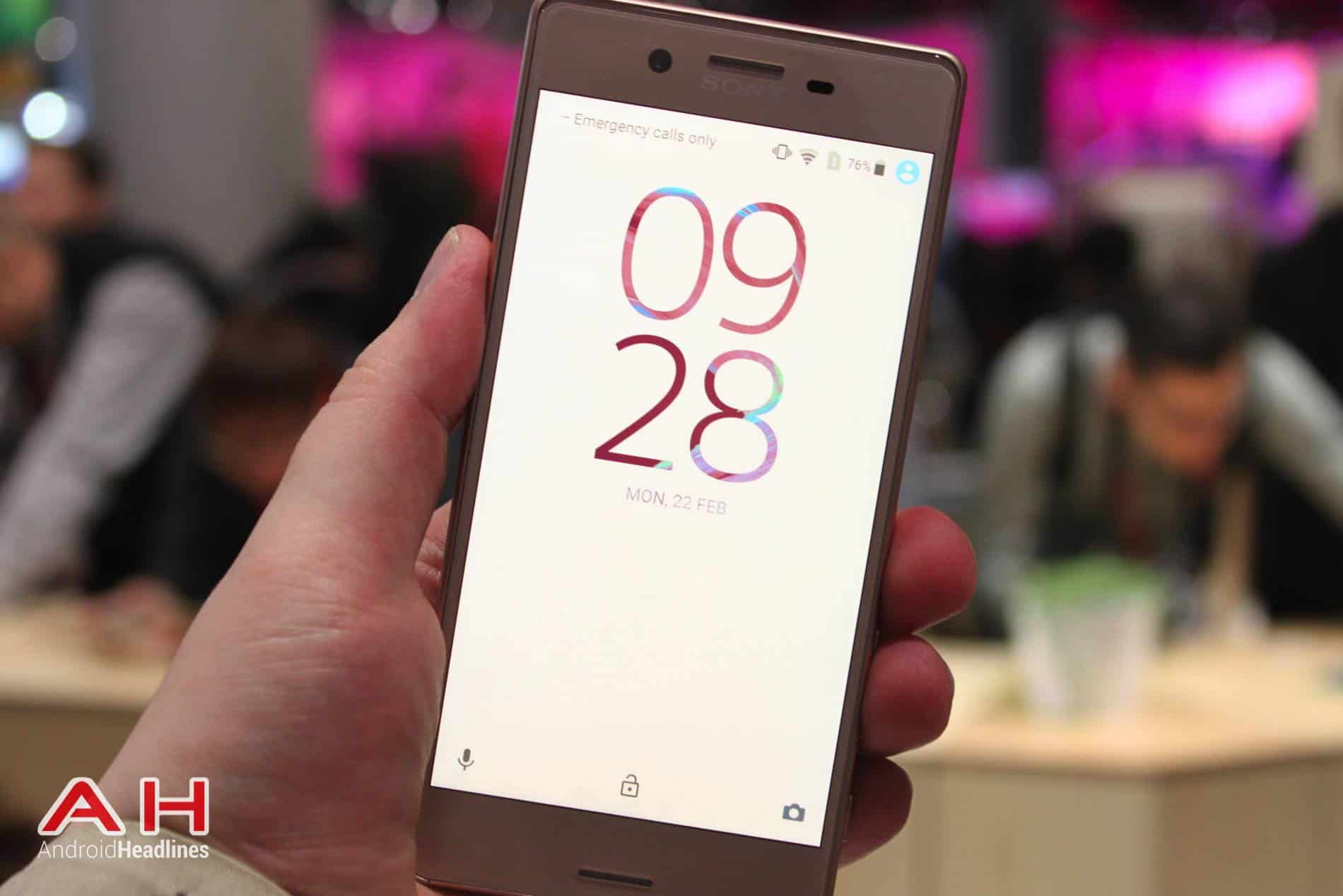 Xperia X Hands On MWC AH 27