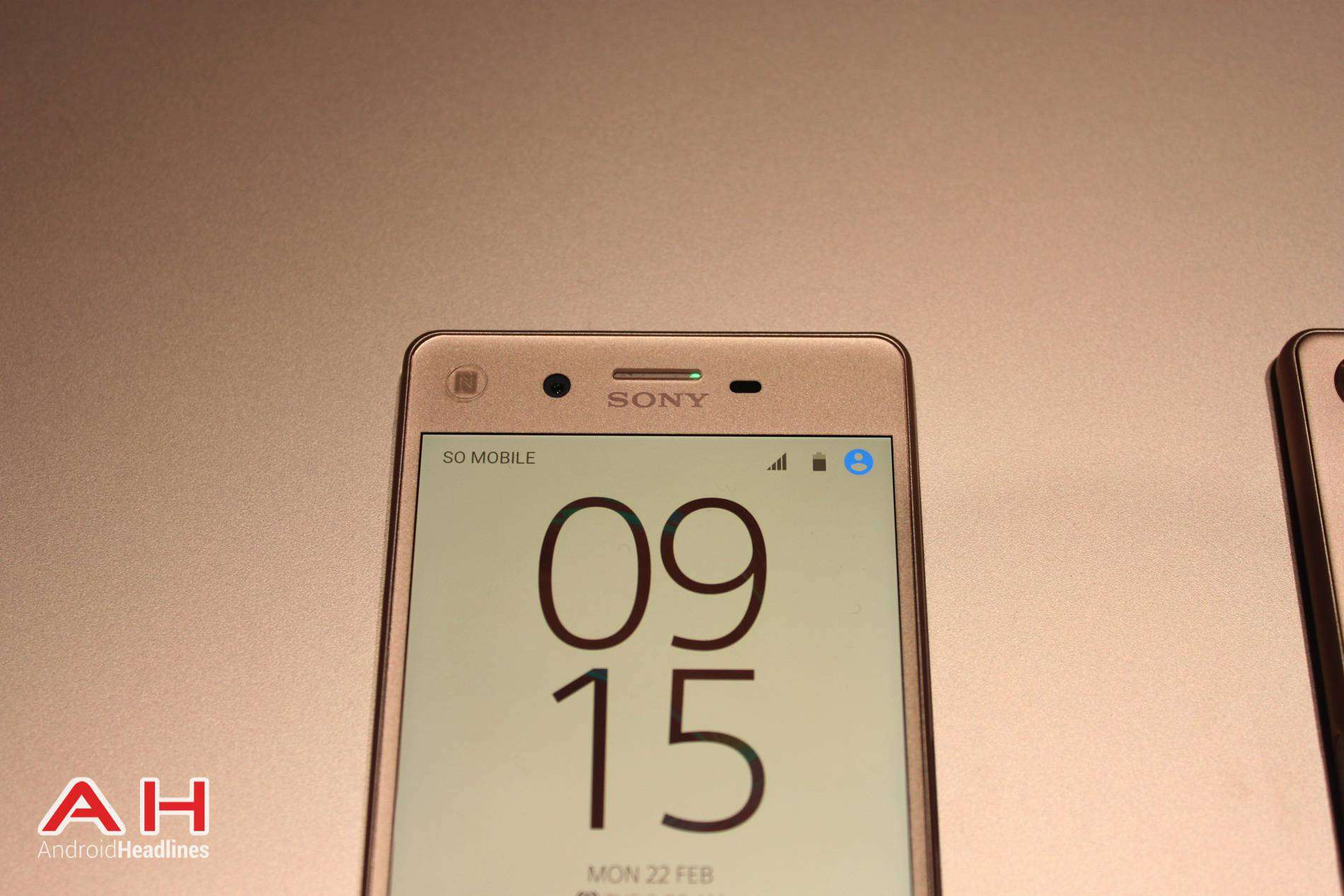 Xperia X Hands On MWC AH 4