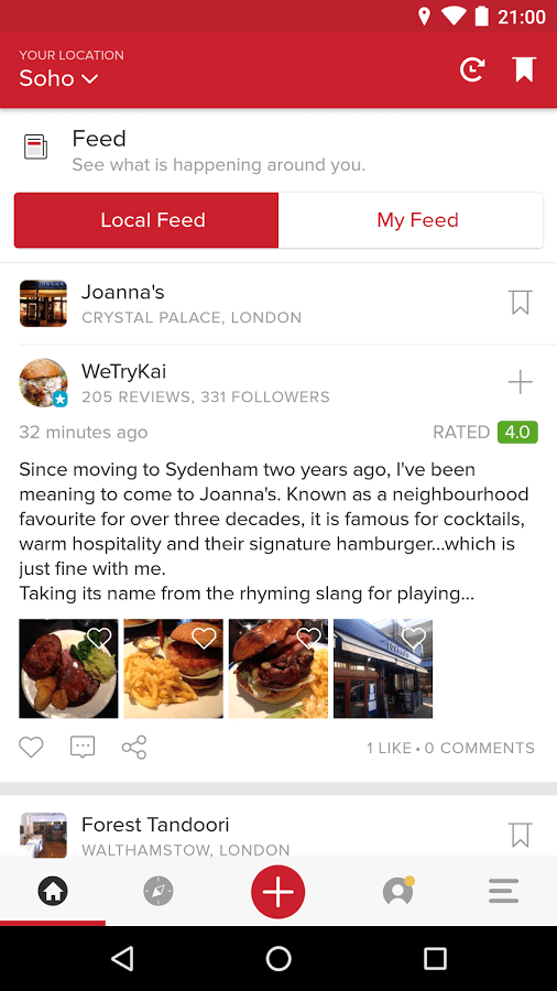 Zomato - Food Menu & Reviews