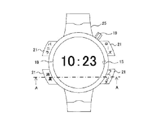 fragrant smartwatch patent