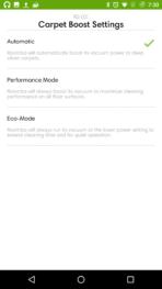 iRobot Roomba 980 AH NS app carpet boost