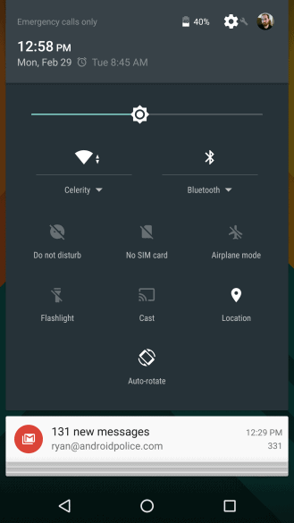 Android N screens