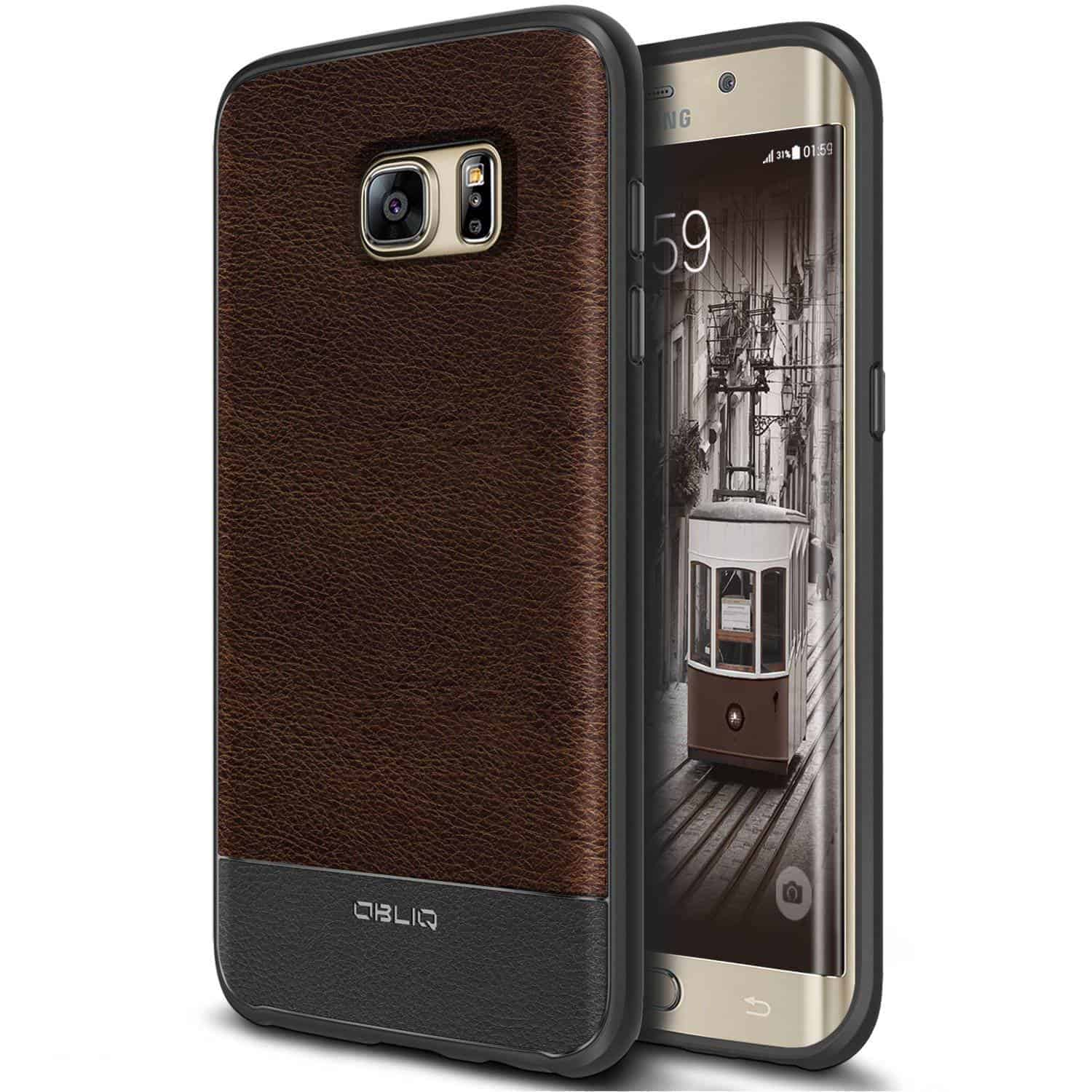 leather cover samsung s7 edge