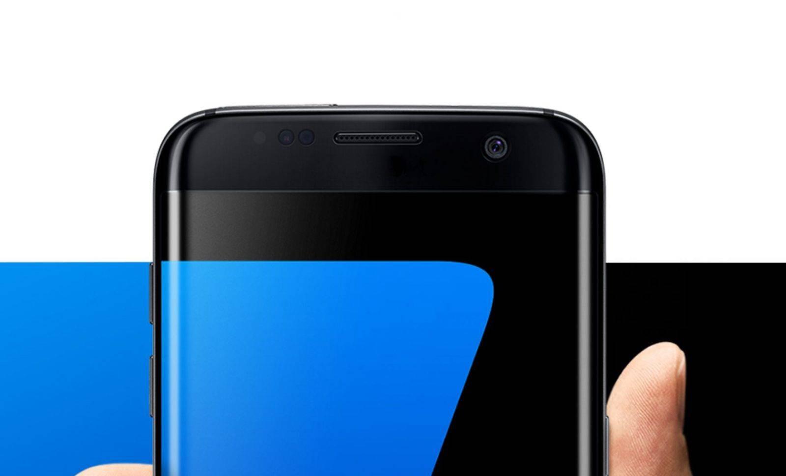 Galaxy S7 no front logo
