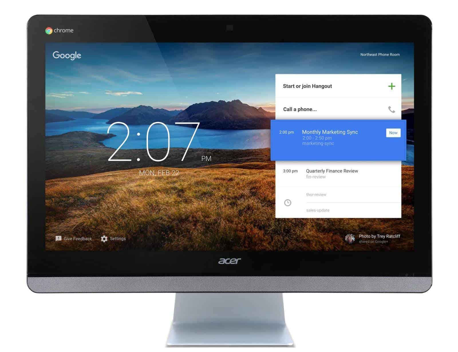 Acer Chromebase for Meetings main