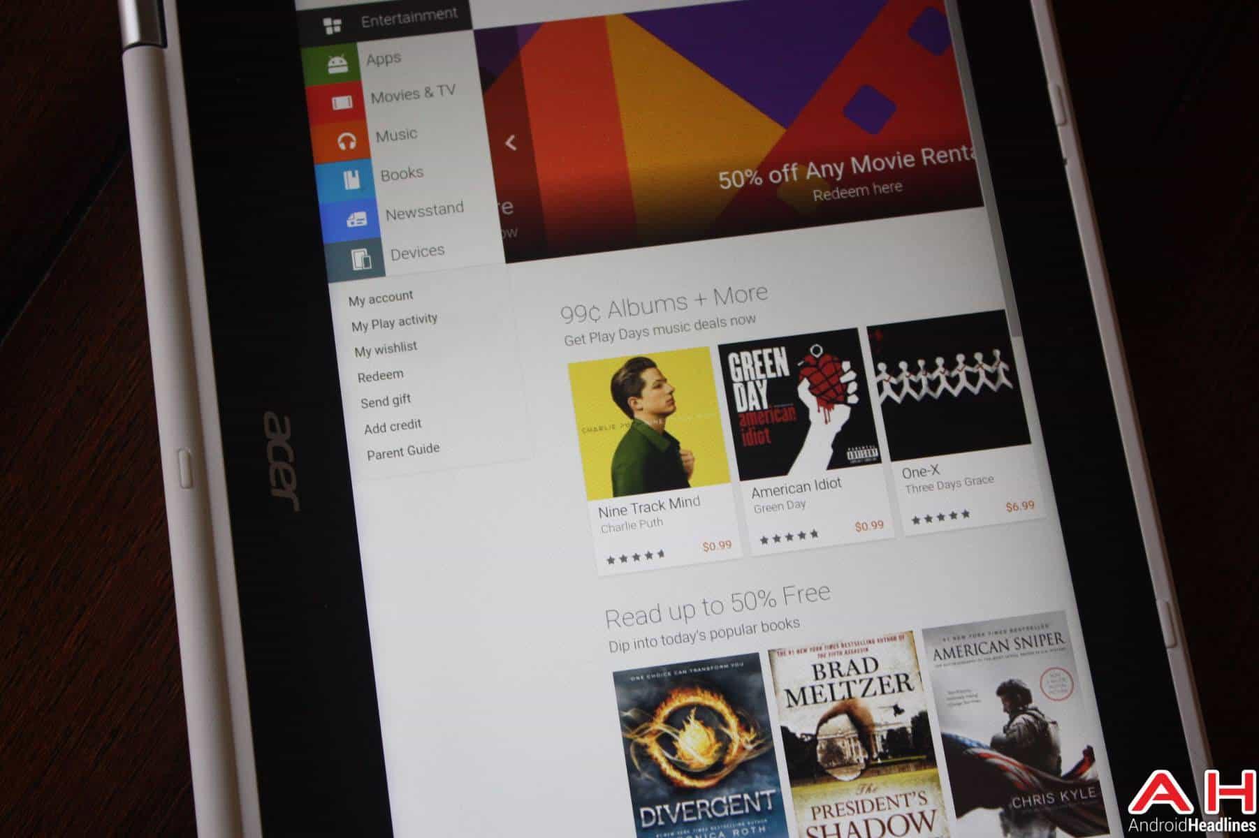 Acer Chromebook R11 Additional AH-1