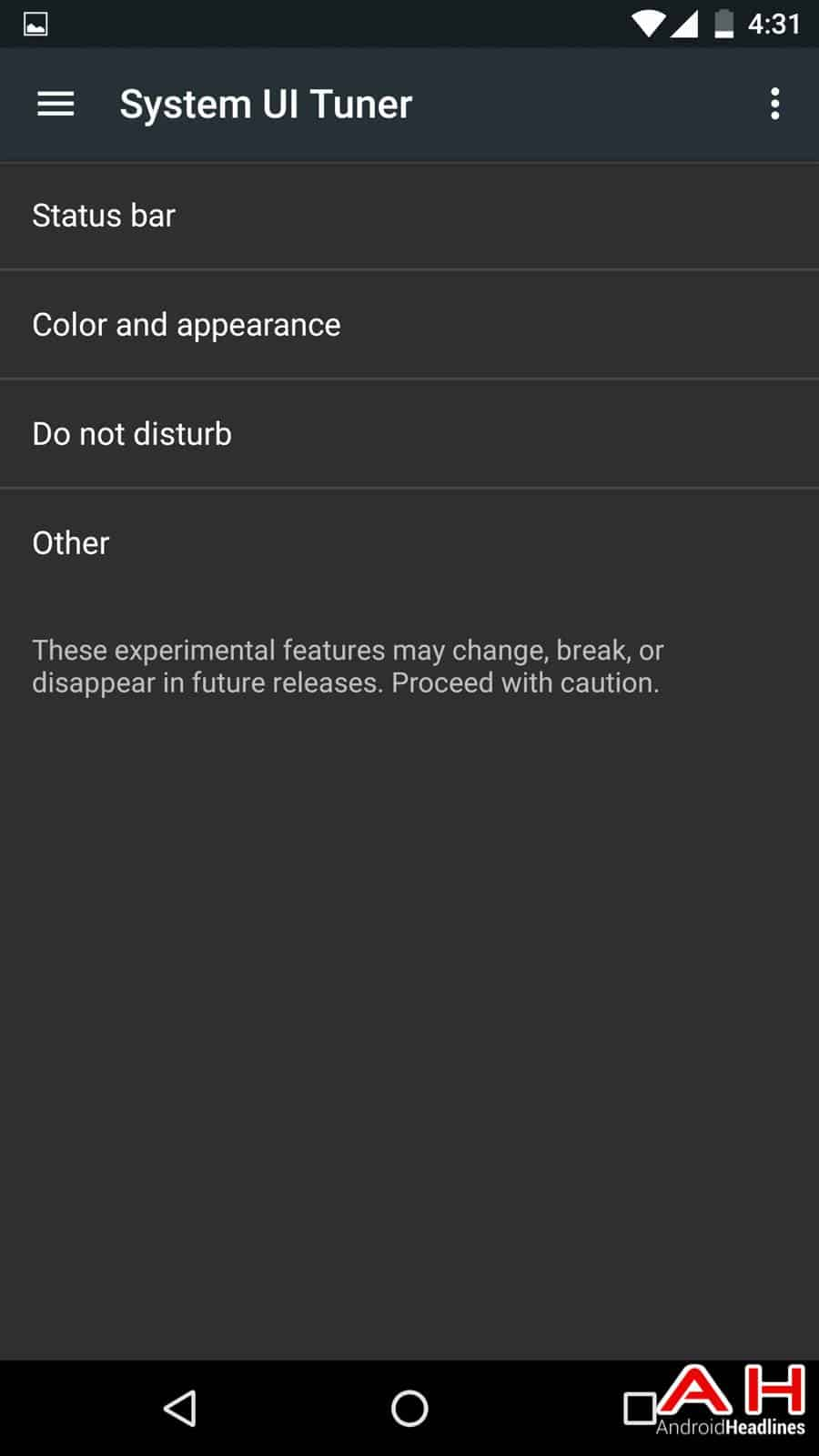 Android N Screenshots AH 163127