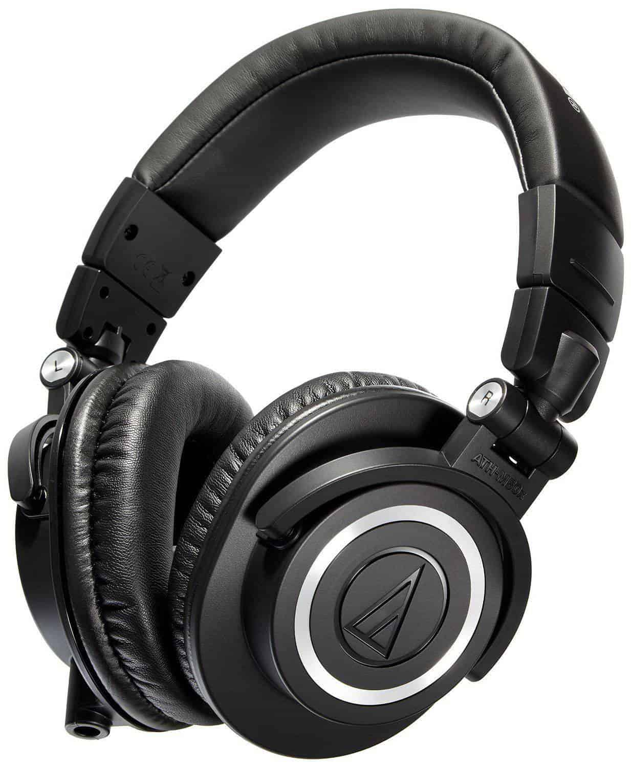 Audio Technica ATH M50x Professional Studio Monitor Headphones 01 1