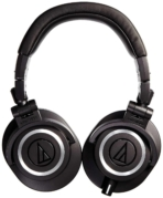 Audio Technica ATH M50x Professional Studio Monitor Headphones 02