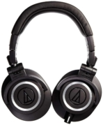 Audio Technica ATH M50x Professional Studio Monitor Headphones 03 1