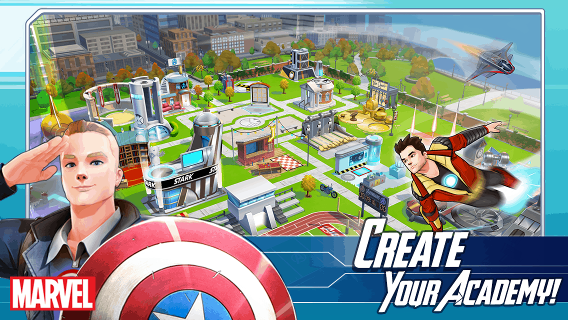play avengers academy online