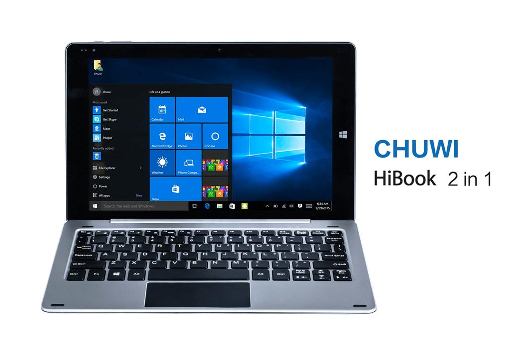 Chuwi HiBook dual-boot hybrid tablet_1
