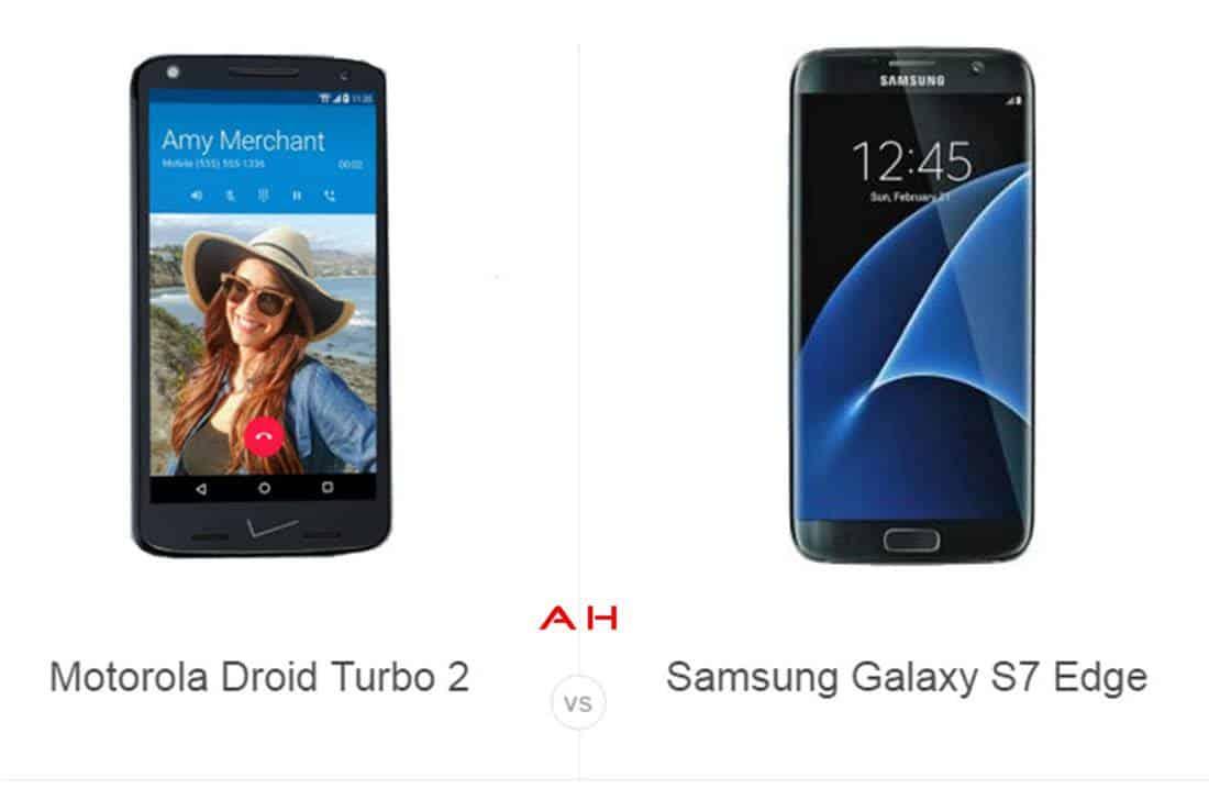 Droid Turbo 2 vs Galaxy S7 Edge cam AH