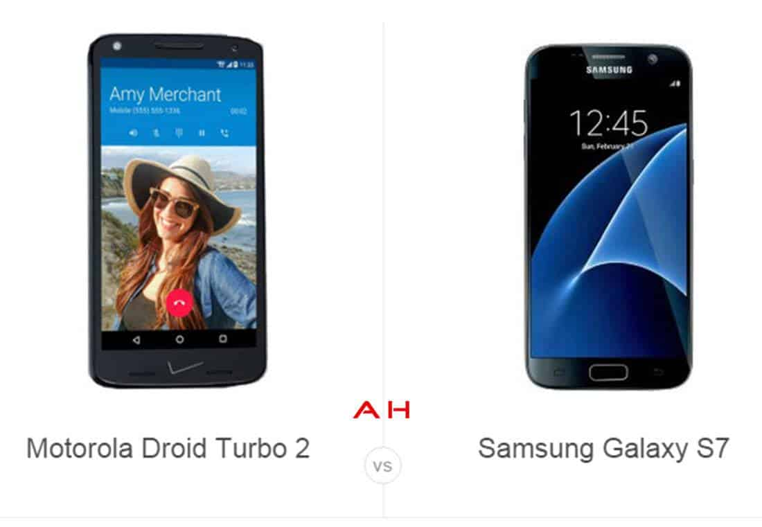 Droid Turbo 2 vs Galaxy S7 cam AH