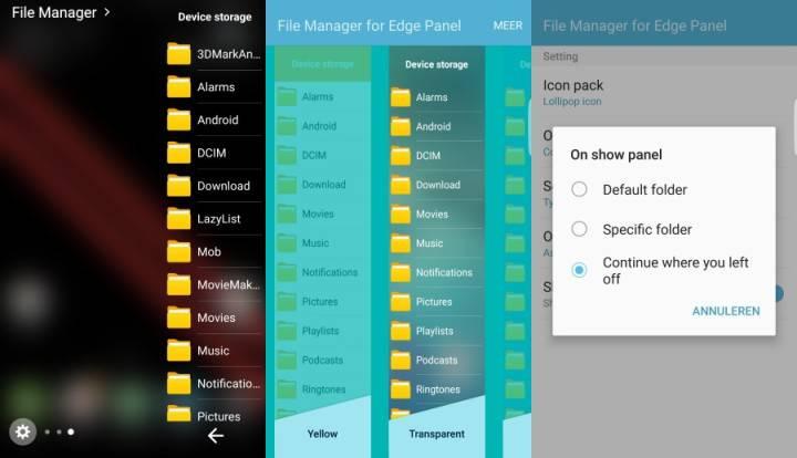EHZ File Explorer Galaxy S7 Edge - 2