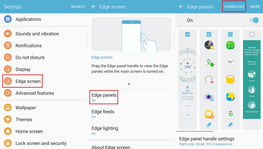 EHZ File Explorer Galaxy S7 Edge