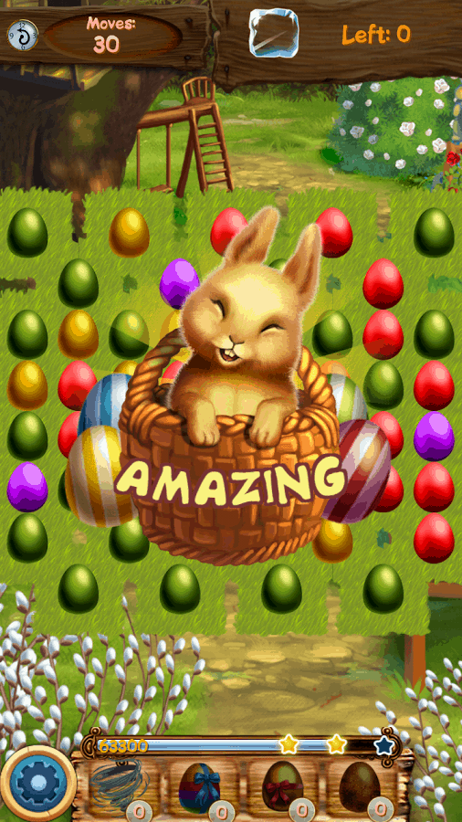Easter Eggs Fluffy Bunny Swap