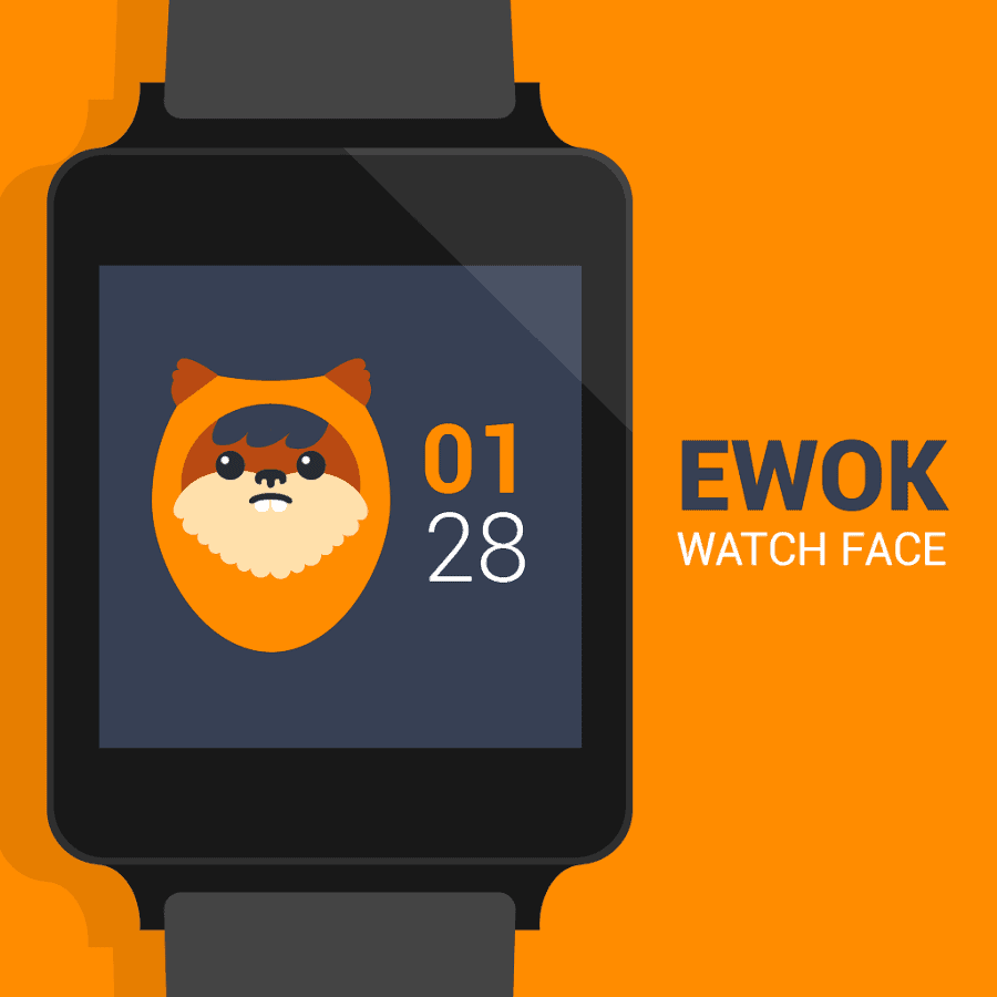 Ewok Watch Face