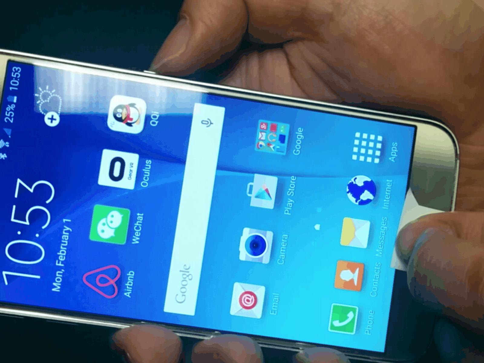 Fingerprint Spoofing Galaxy S6 KK