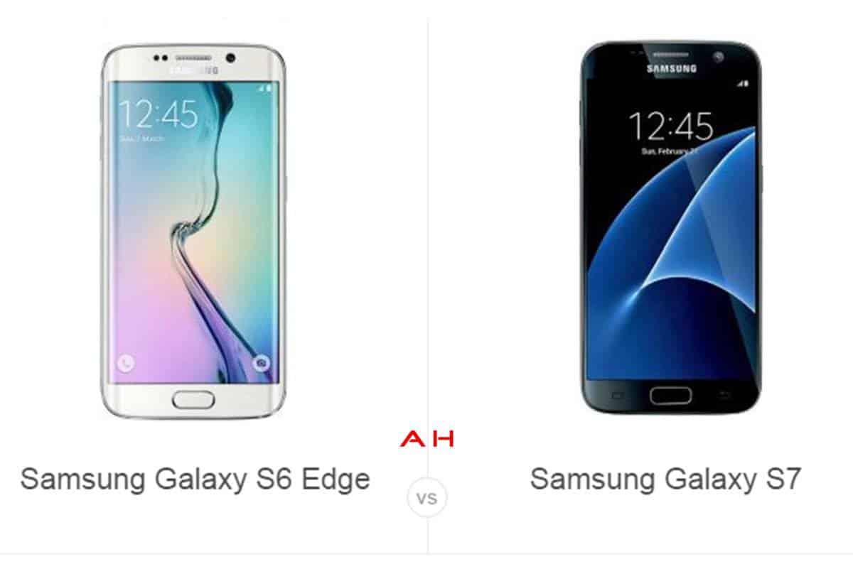 Galaxy S6 Edge vs Galaxy S7 cam AH