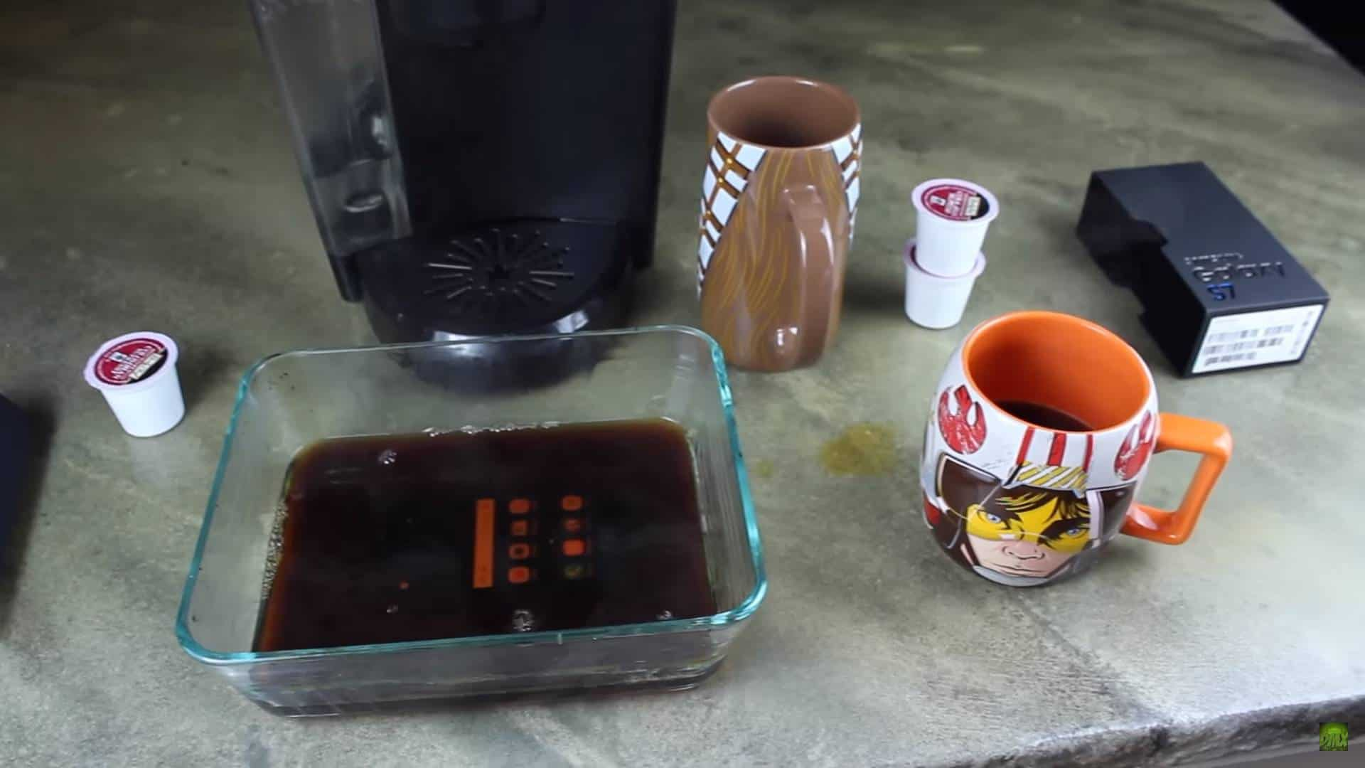 Galaxy S7 Coffee Test