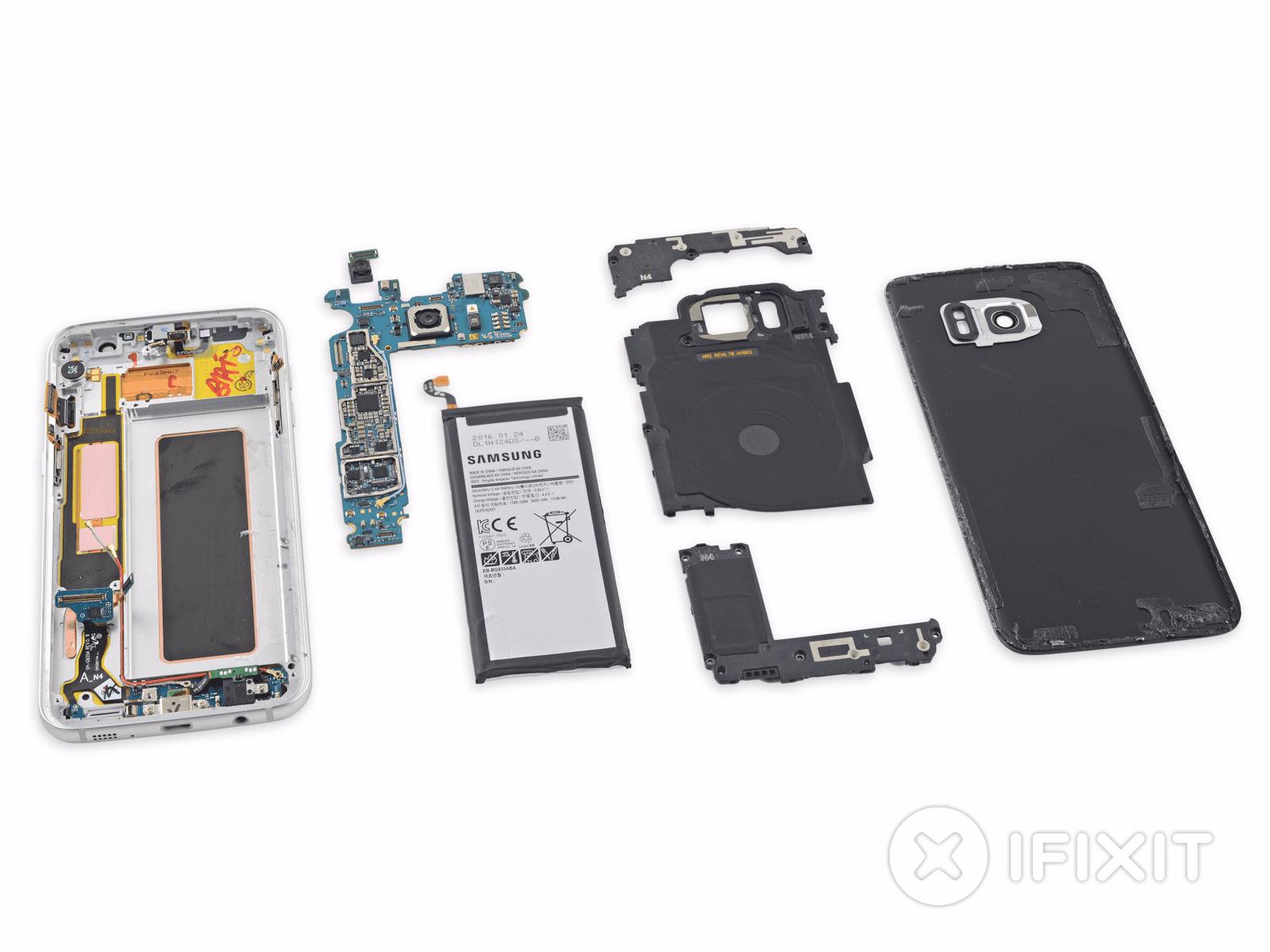Galaxy S7 Edge iFixit Teardown