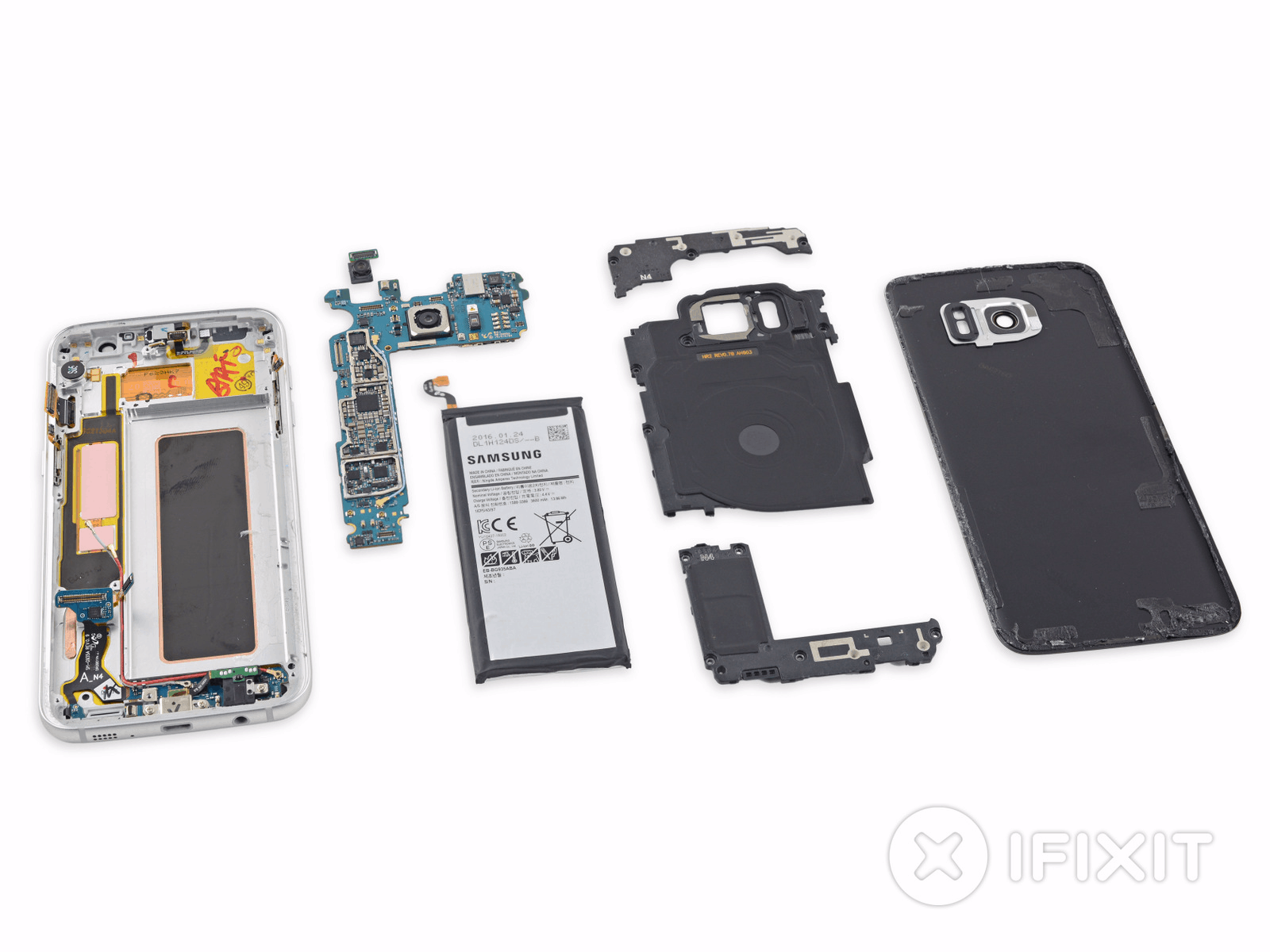 Galaxy S7 Edge iFixit Teardown
