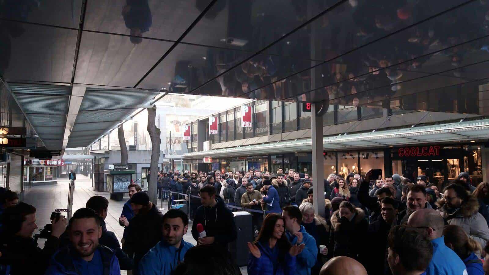 Galaxy S7 S7 Edge Netherlands launch 1