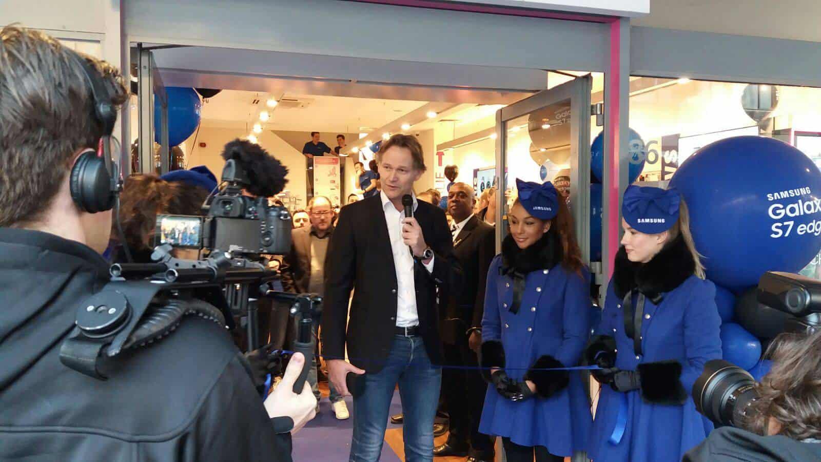 Galaxy S7 S7 Edge Netherlands launch 2
