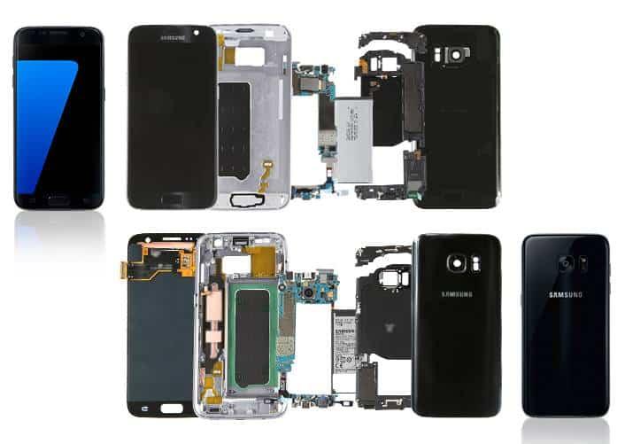 Galaxy S7 & S7 Edge Teardown By Samsung
