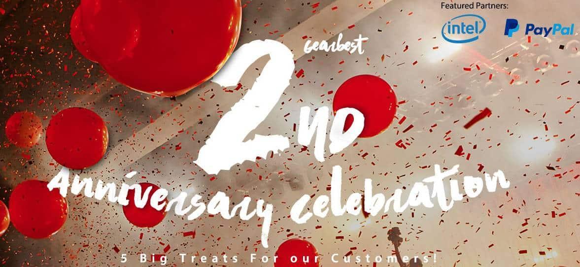GearBest 2nd anniversary