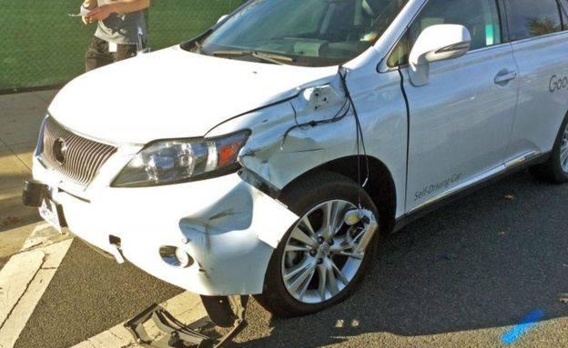 Google AV Bus Crash