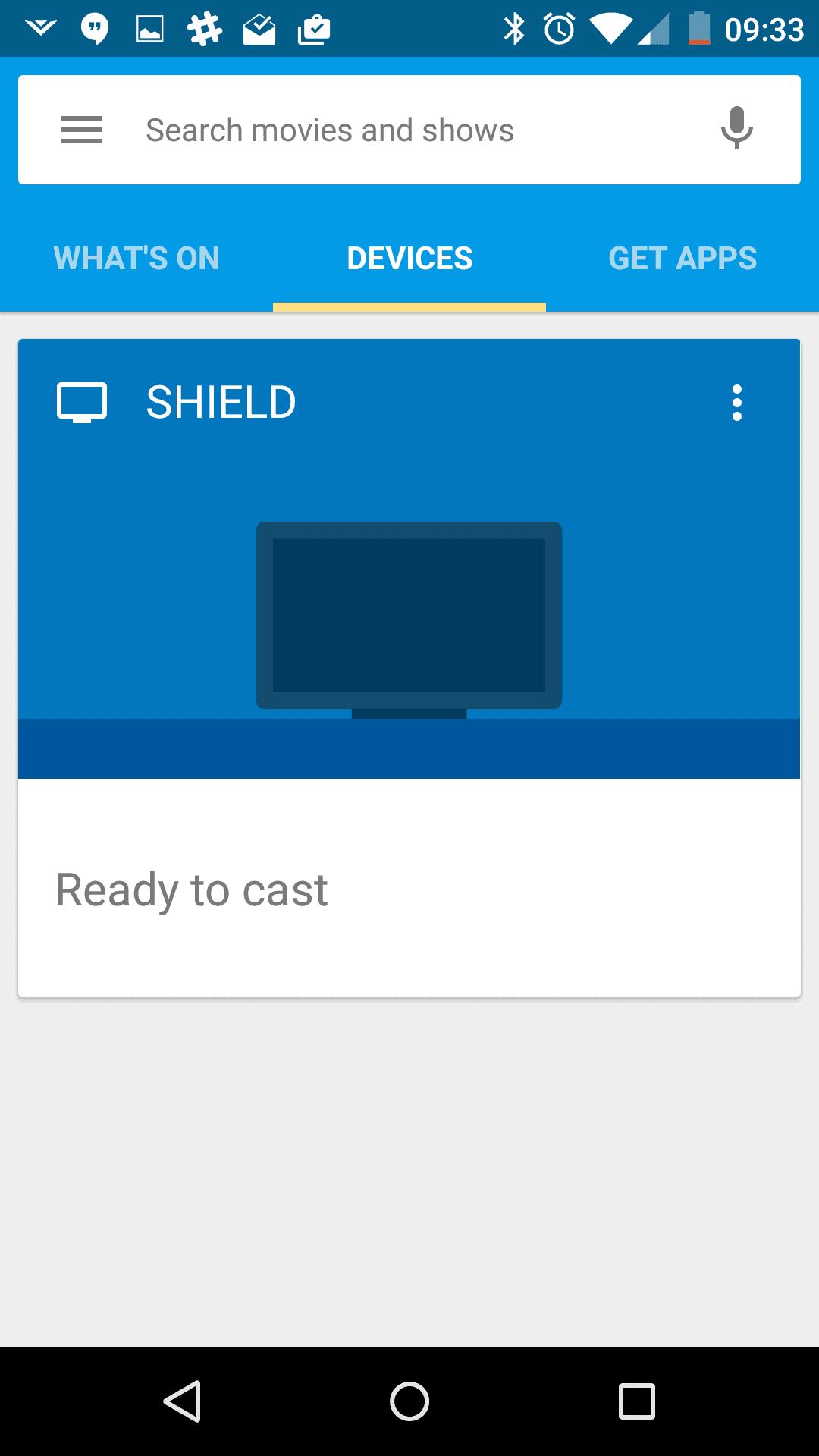 Google Cast AH screenshots 1