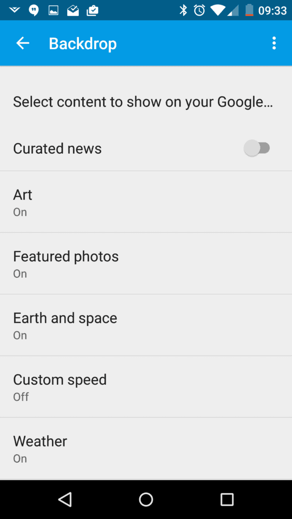 Google Cast AH screenshots (4)