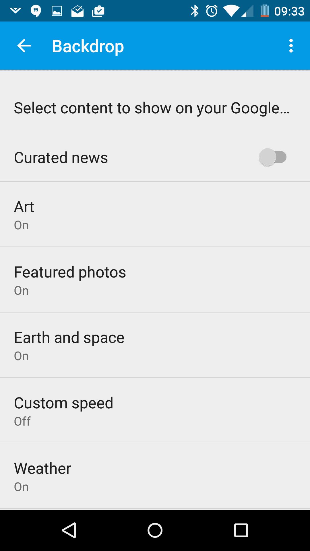 Google Cast AH screenshots 4