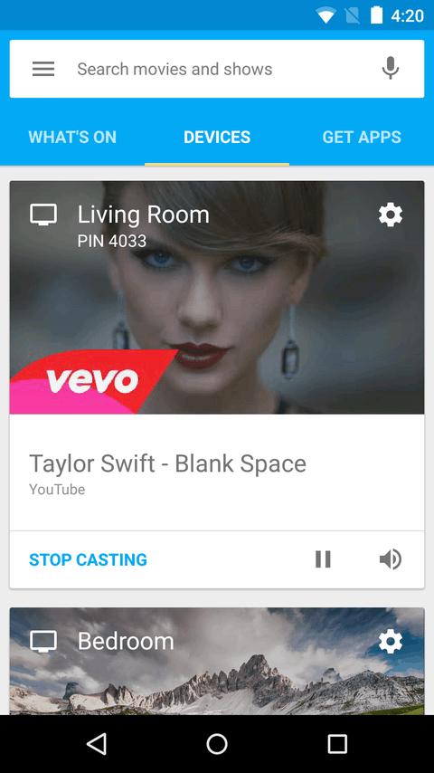Google Cast Play Store Screenshot 03